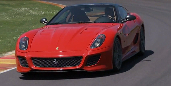 Video: Ferrari 599 GTO Put Through Paces at Mugello Circuit