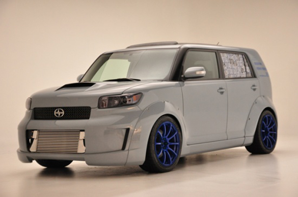 Drift Scion xB with 2JZ Toyota Supra Engine Built by Rogue Status