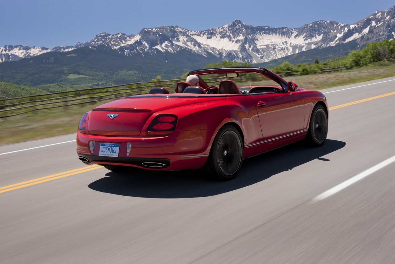 2011 bentley continental supersports convertible on the road video. Black Bedroom Furniture Sets. Home Design Ideas