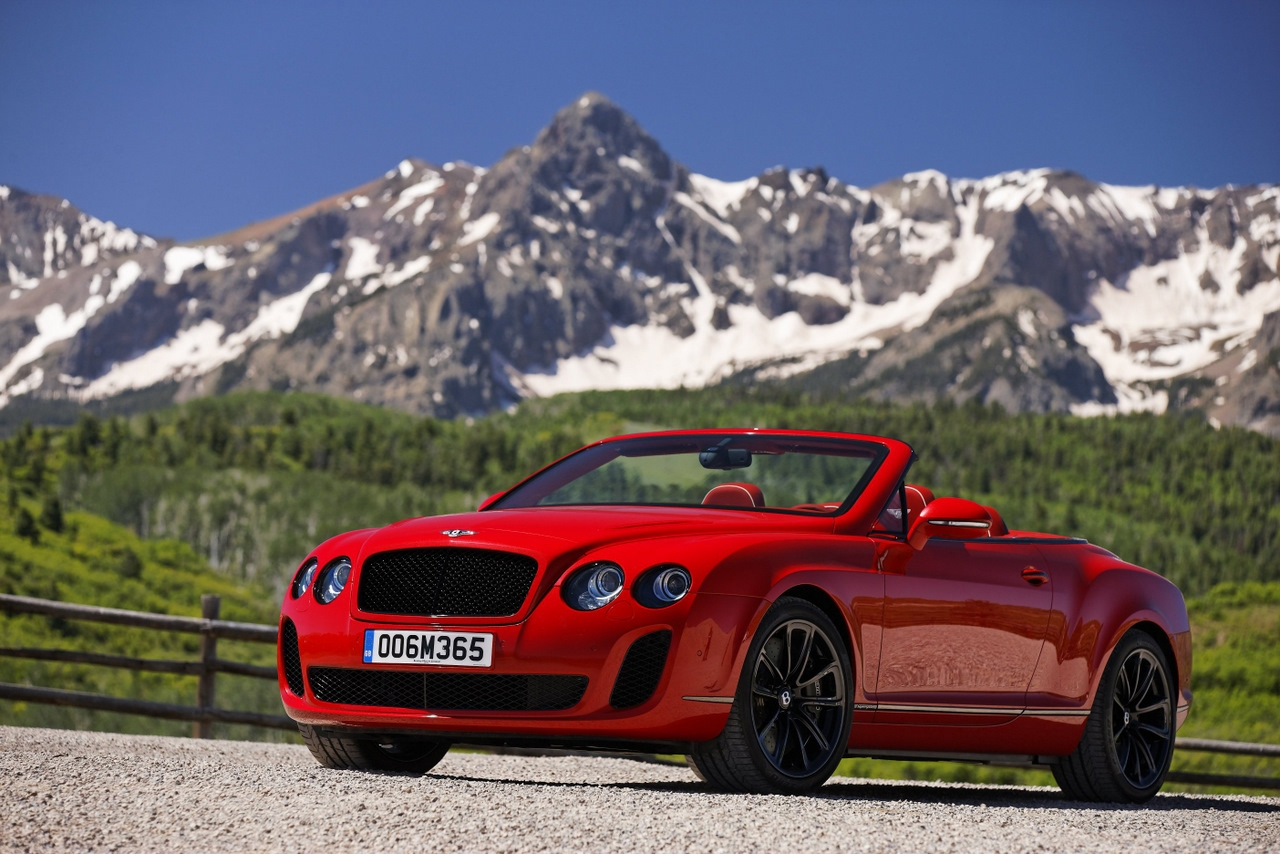 2011 bentley continental supersports convertible on the for The bentley