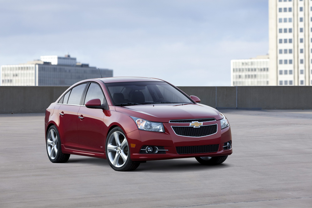 Chevrolet Cruze Pricing Announced – Starting at $16,995