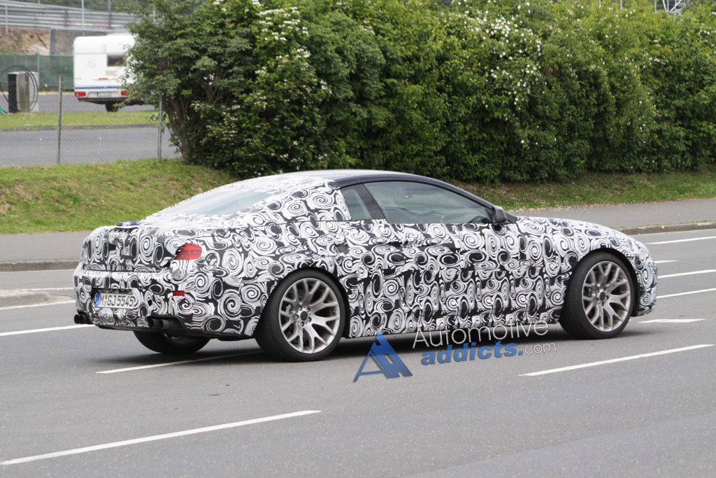Spy Photos: 2012 BMW M6 (F12) Caught During Testing