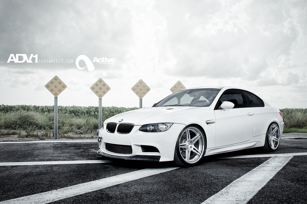 ADV.1 'ADV05 Deep Concave' Wheels Meets Active Autowerke BMW M3 E92