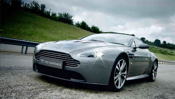 aston martin v12 vantage launch video. Black Bedroom Furniture Sets. Home Design Ideas