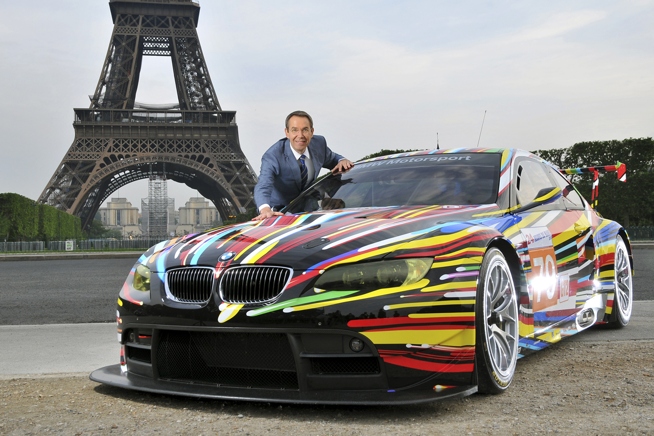 Jeff Koons' BMW Art Car Officially Revealed for 24 Hours of Le Mans