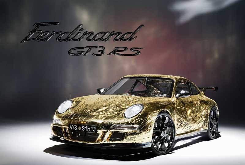 Ferdinand GT3 RS: World's Slowest Porsche – Video