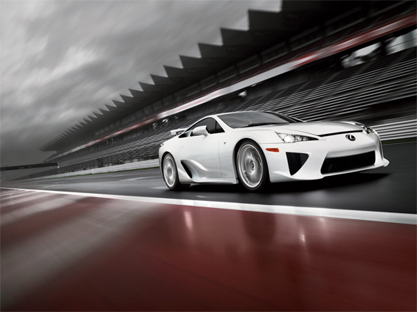 Harmony on the Track: 2012 Lexus LFA Video