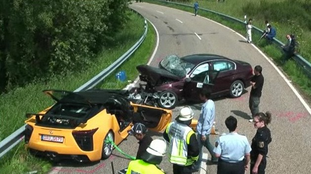 Toyota Chief Test Driver Dies In Crash Behind Wheel of Lexus LF-A Prototype