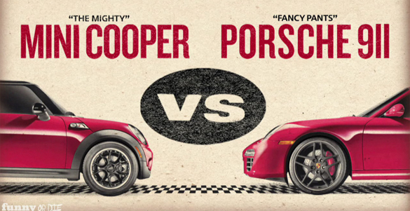 MINI Does Rocky IV Training Spoof Video: MINI vs. Porsche Training Montage