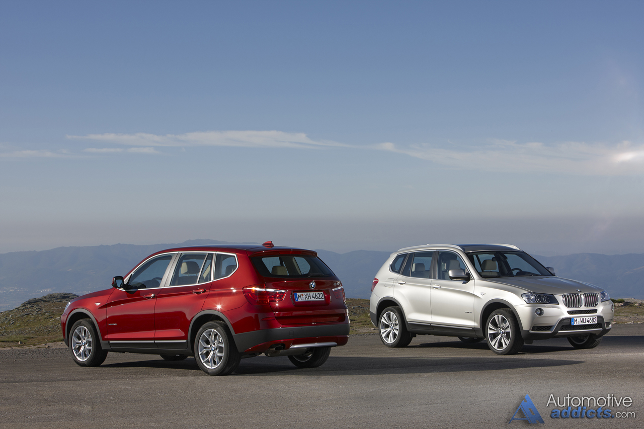 The allnew 2011 BMW X3 has