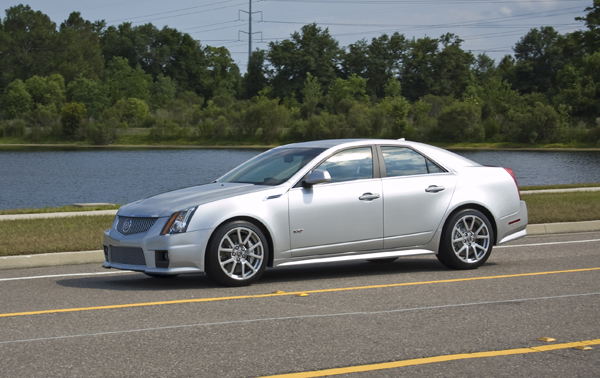 2010 Cadillac CTS-V Review & Test Drive