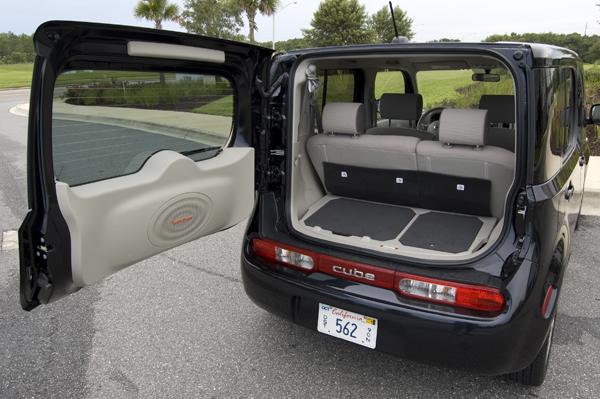 nissan cube rear cargo organizer. Black Bedroom Furniture Sets. Home Design Ideas