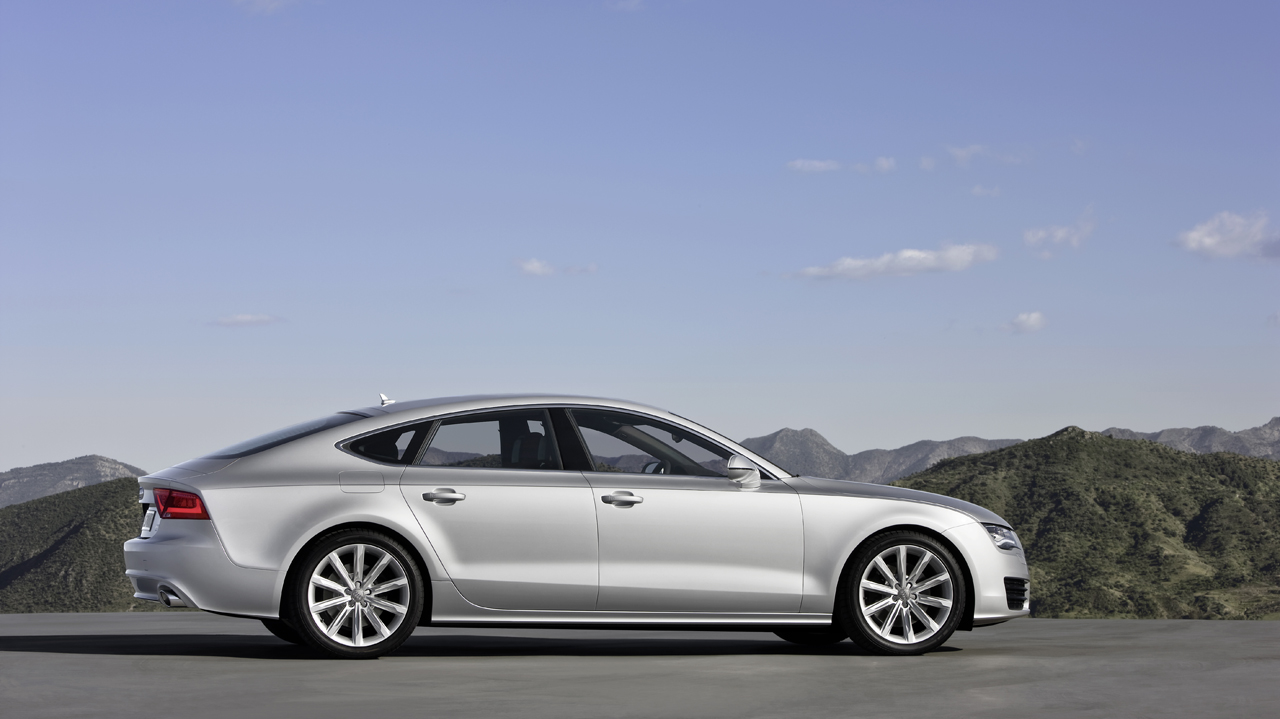 2011 audi a7 sportback revealed in munich. Black Bedroom Furniture Sets. Home Design Ideas