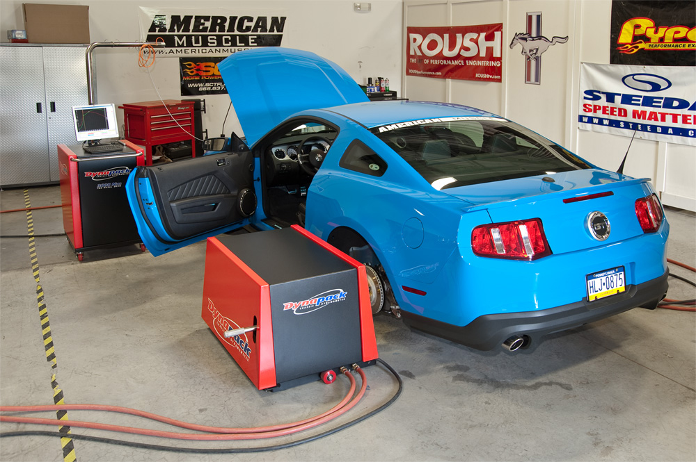 AmericanMuscle 2011 Mustang GT 5.0L Tuned by Bama Custom Tuning Division