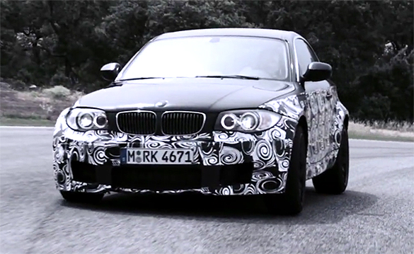 Video: BMW 1-Series M Coupe Teased