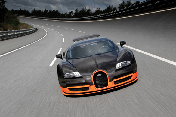 Video: Bugatti Veyron Super Sport Put To The Test in Top Gear Season 15