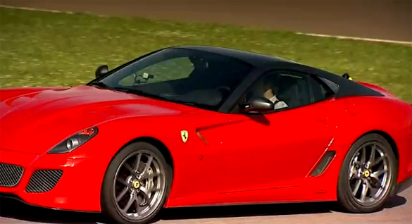 Video: Fifth Gear Drives the Ferrari 599 GTO around Fiorano