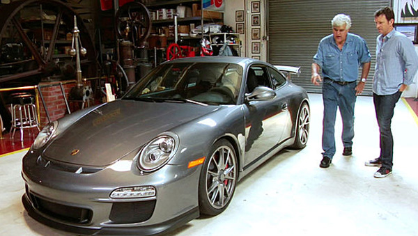 Jay Leno's Garage Video: 2010 Porsche 911 GT3 Driven by Justin Bell