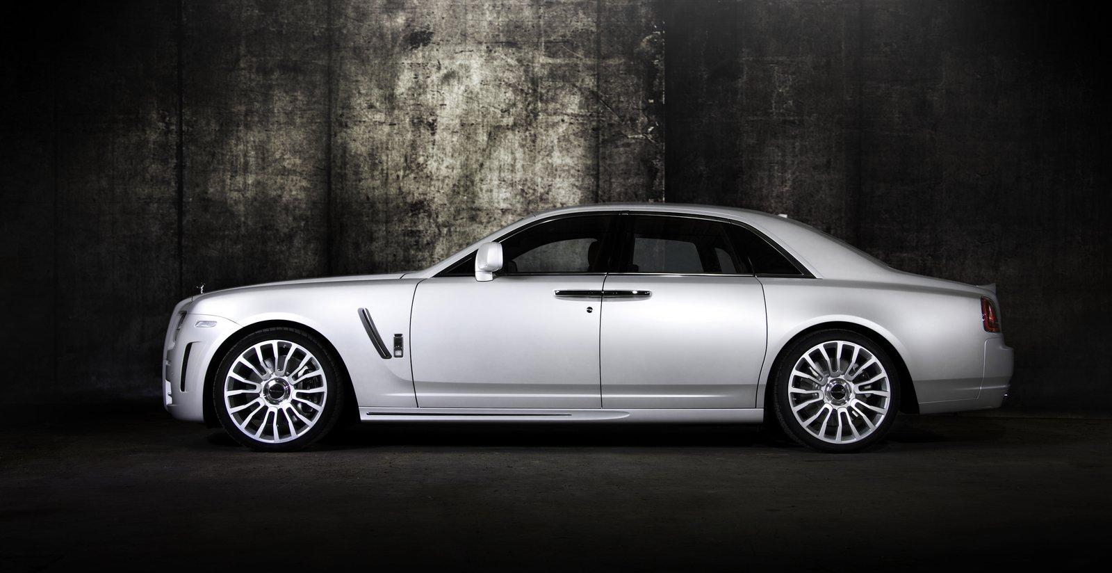 22 Inch Tires >> Mansory Rolls-Royce White Ghost Limited