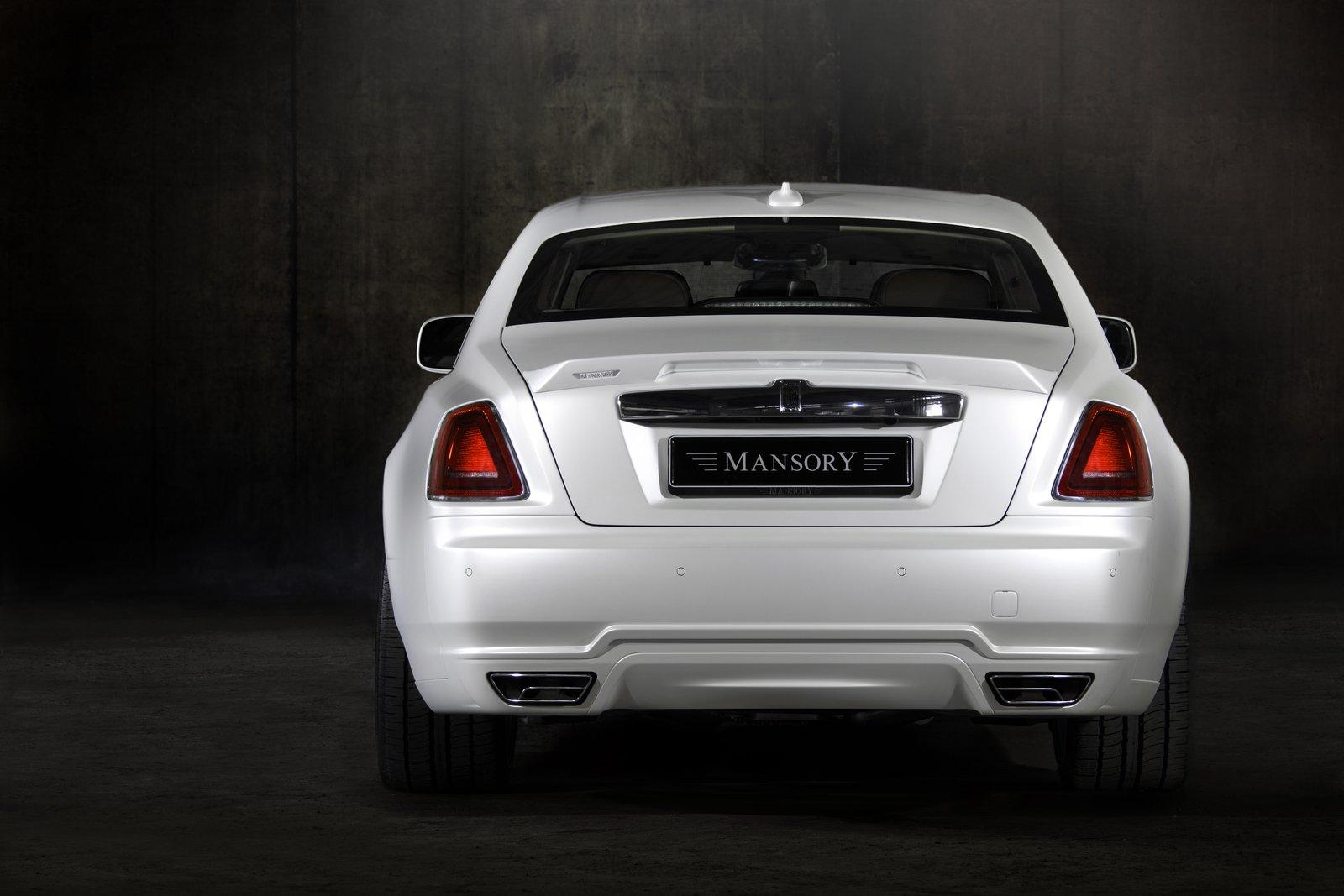mansory rolls royce white ghost limited. Black Bedroom Furniture Sets. Home Design Ideas