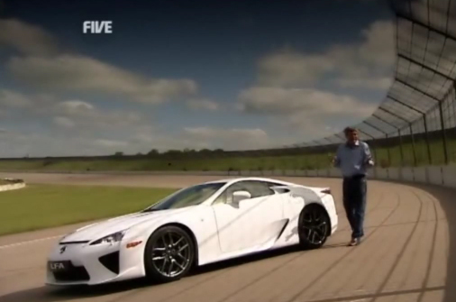 Video: Fifth Gear's Tiff Needell Reviews Lexus LFA