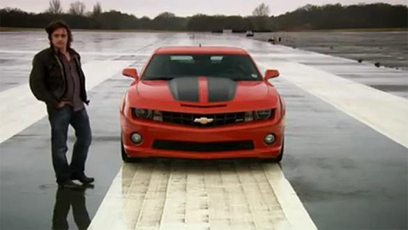 Video: Top Gear Tests Chevrolet Camaro SS