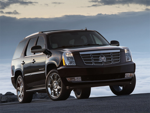 Cadillac Escalade Ranks #1 In Top 10 Most Stolen Vehicles List