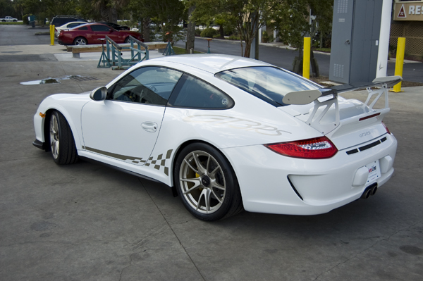 2007 Porsche 911 Gt3. The 2010 911 GT3 RS was barley