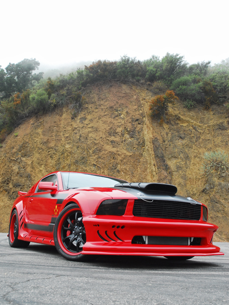 Galpin Autosports 2008 Red Mist Mustang From Kick Ass