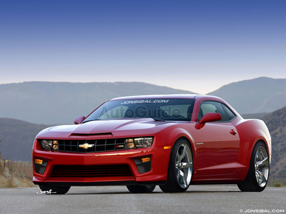 2012 Chevrolet Camaro Z28 6.2-Liter Supercharged V8 Rendering Revealed
