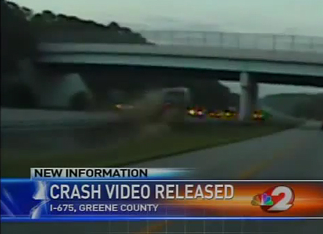 Video: Police Cruiser Camera Catches 100mph Crash in Dayton, OH