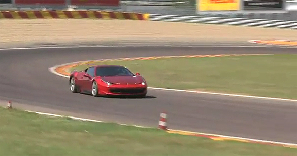 Video: Ferrari 458 Challenge Testing at Fiorano
