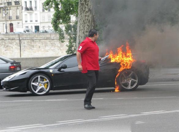 Ferrari 458 Italia Reportedly Recalled for Fire Risk Issue