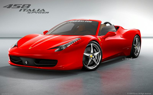 Ferrari 458 Spider GTS With Retractable Glass Roof Rumored