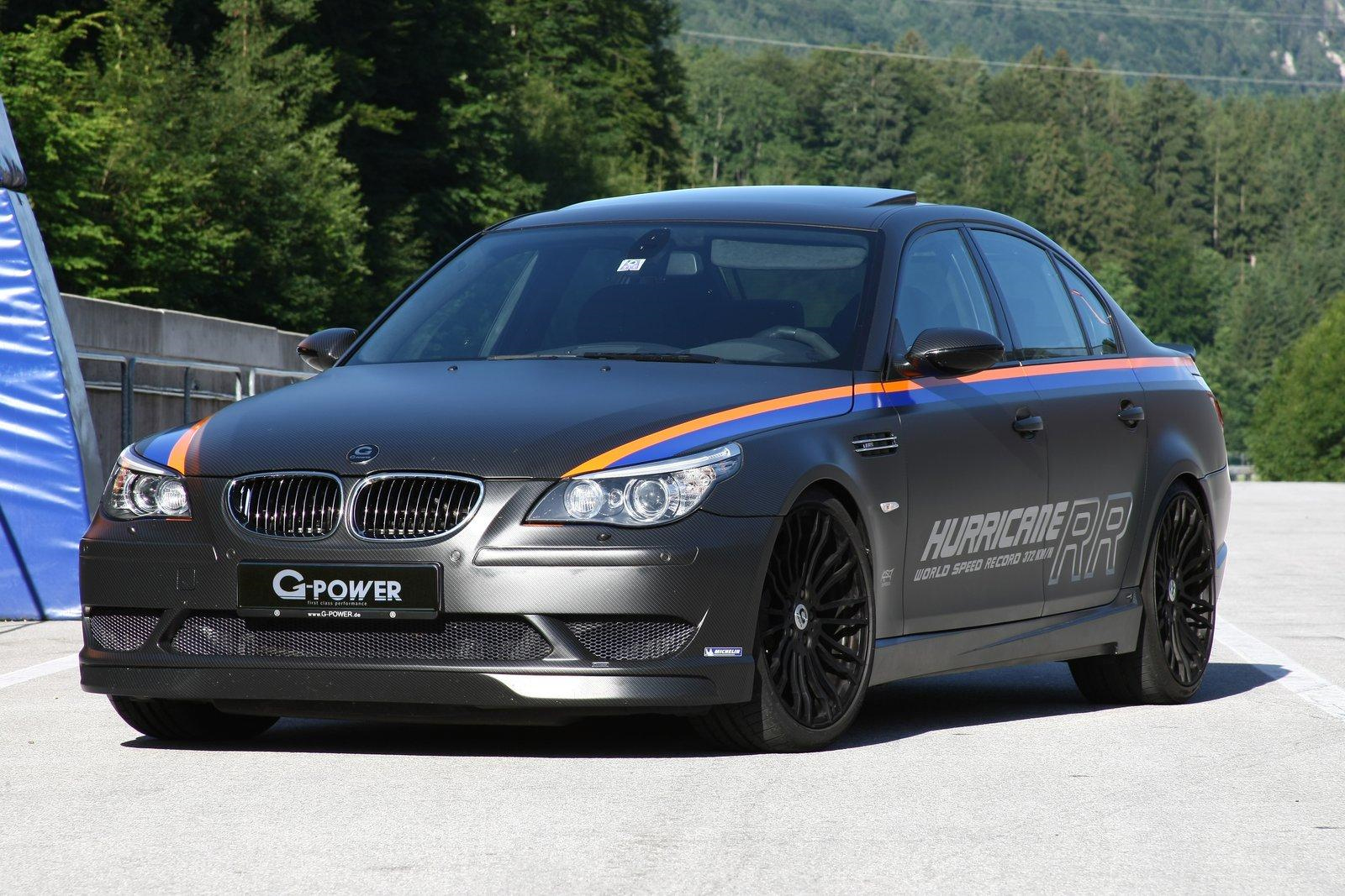 World S Fastest Sedan G Power Bmw M5 Hurricane Rr