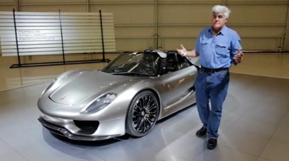 Video: Jay Leno Gets A Walk-Around of the Porsche 918 Spyder