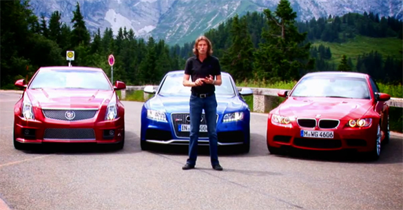 Magazine Videos: Cadillac CTS-V Coupe vs. Audi RS5 vs. BMW M3