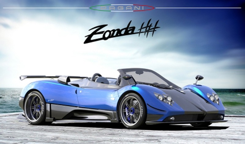 100 Hot Cars 187 Pagani Zonda Cinque