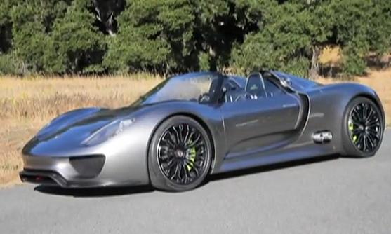 Porsche 918 Spyder Hybrid Driving Videos