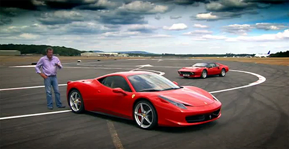 Top Gear Video: Clarkson Reviews Ferrari 458 Italia