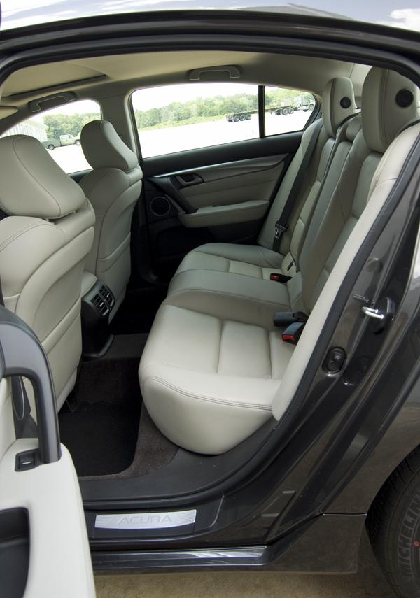 Acura Tl Rear Seats