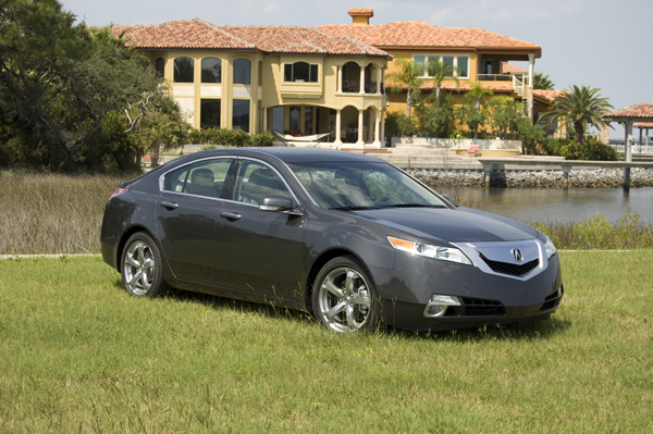 2010 acura tl sh awd review test drive