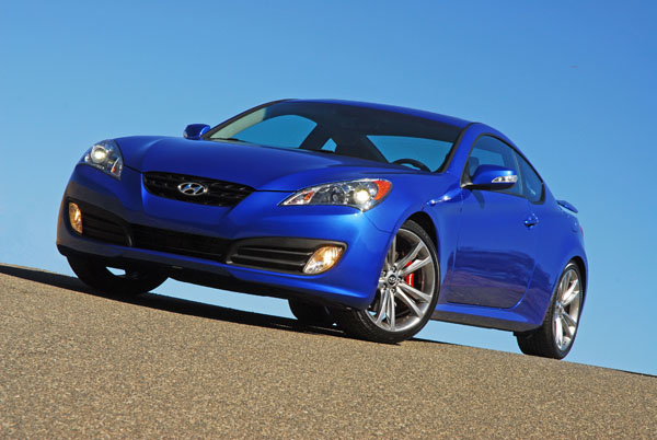 2010 Hyundai Genesis Coupe Track Edition Review & Test Drive