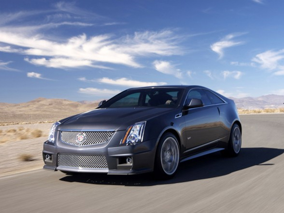 New 2011 Cadillac CTS-V Coupe TV Commercials