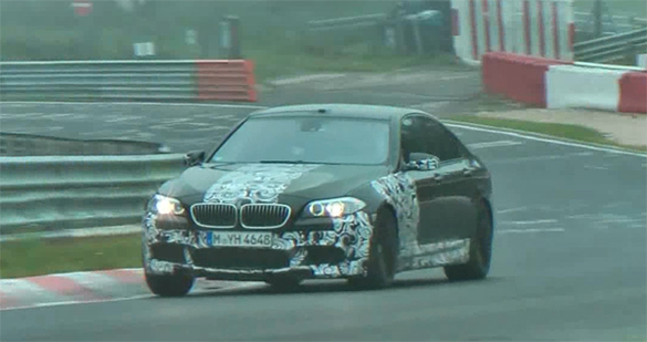 Close-up Video: 2012 BMW M5 Testing On The Nurburgring