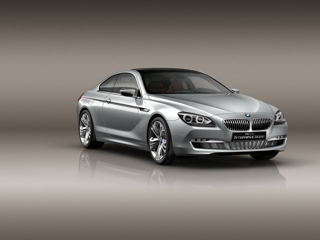 BMW 6 Series Coupe Concept Images Released