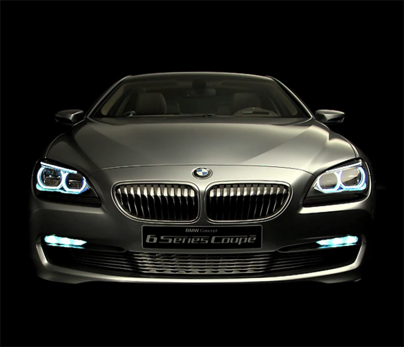 BMW 6 Series Coupe Concept Interior & Exterior HD Videos