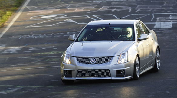 Cadillac CTS-V Competition Nurburgring Commercial Video