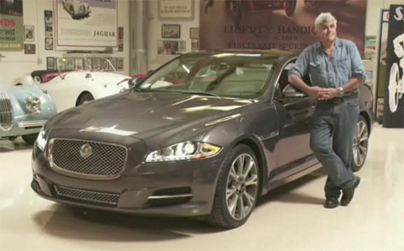 Video: Jay Leno Purchases New Jaguar XJ