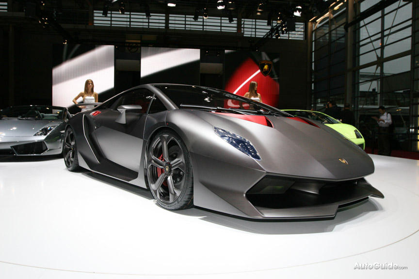 Lamborghini Sesto Elemento (Sixth Element) Revealed at Paris Motor Show